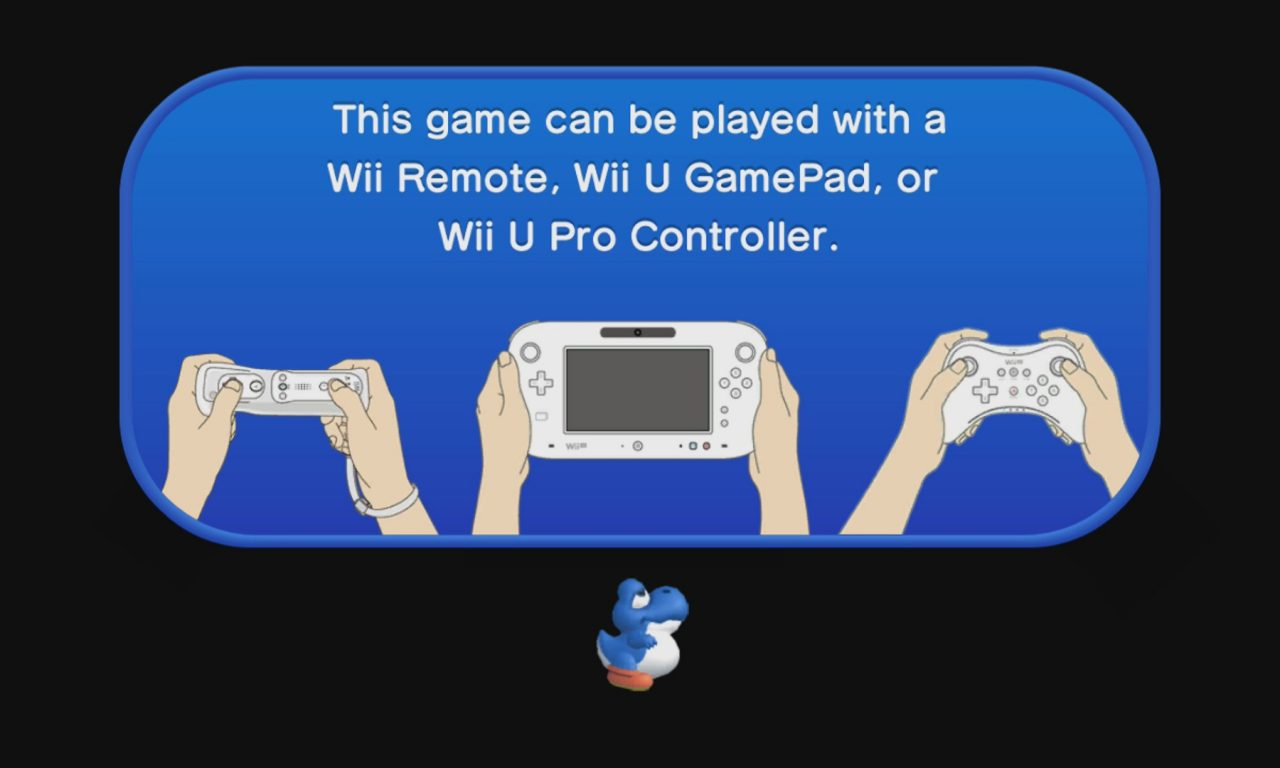 New Super Mario Bros. U supported controllers