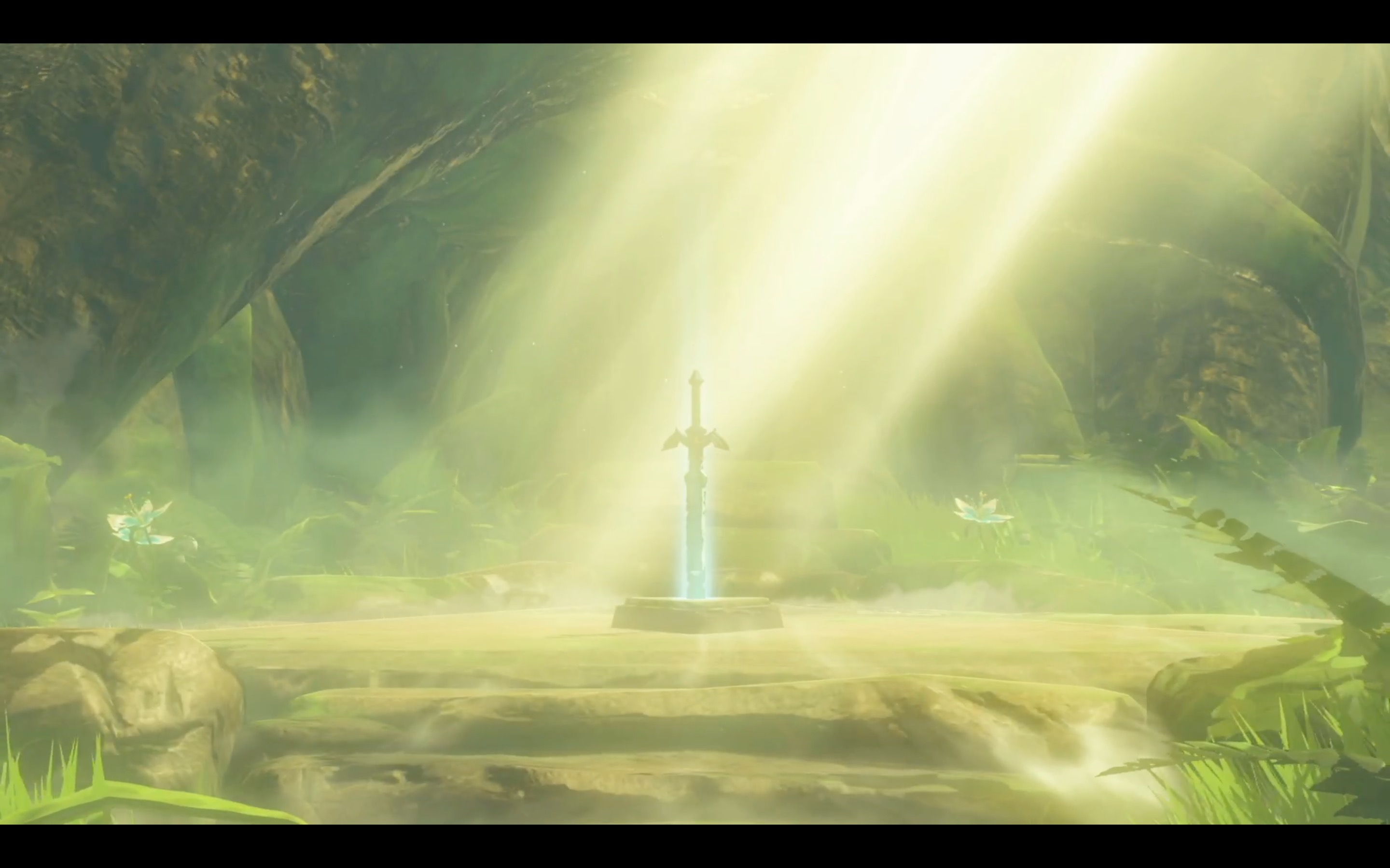 The Master Sword from Nintendo Switch presentation