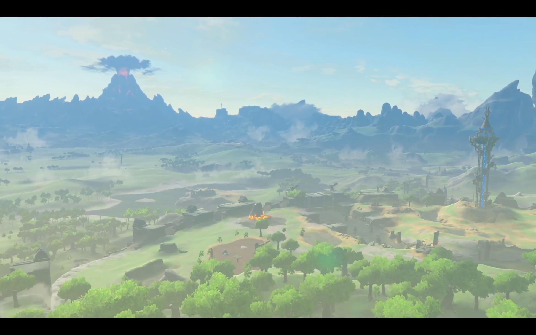 A vista in Nintendo Switch presentation