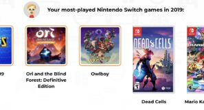 Games most played: Tetris 99, Ori, Owlboy, Dead Cells, Mario Kart 8